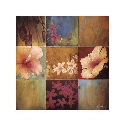 Tropical Nine Patch II-Don Li-Leger-Giclee Print