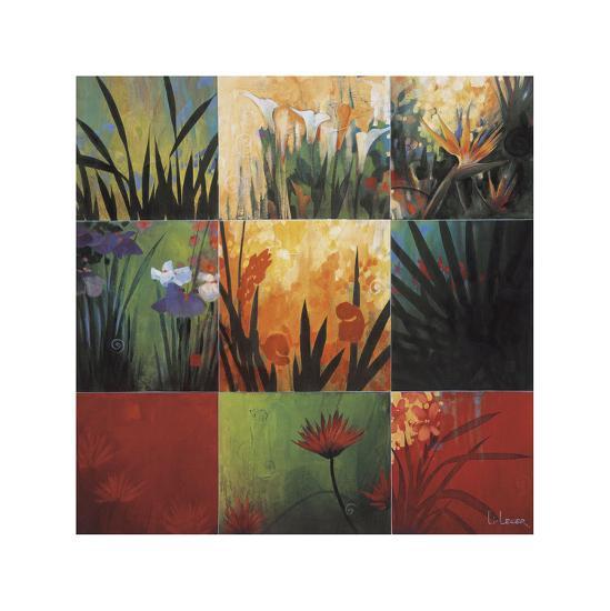 Tropical Nine Patch-Don Li-Leger-Giclee Print