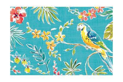 Tropical Oasis II-Daphne Brissonnet-Art Print