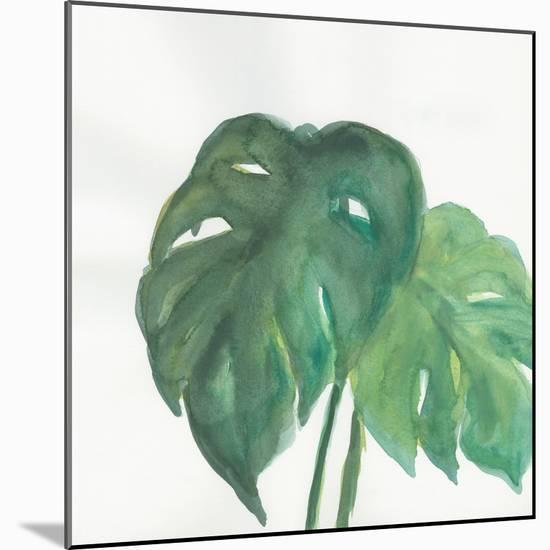 Tropical Palm II-Chris Paschke-Mounted Art Print