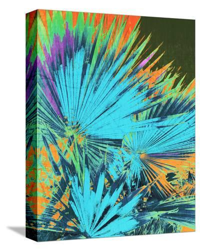 Tropical Palm Leaf I--Stretched Canvas Print