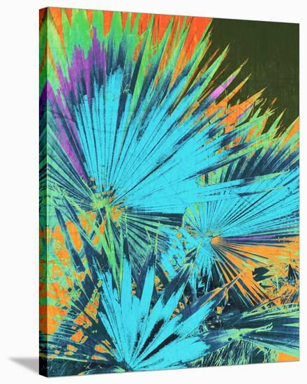 Tropical Palm Leaf I--Stretched Canvas Print