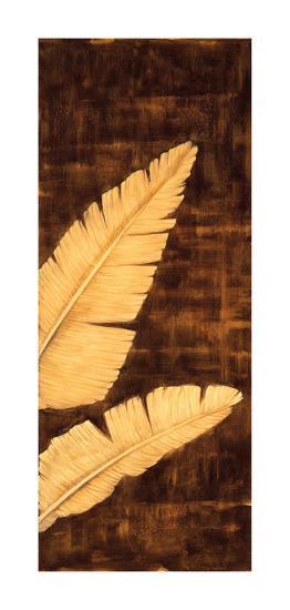 Tropical Palm Triptych III-David Parks-Giclee Print