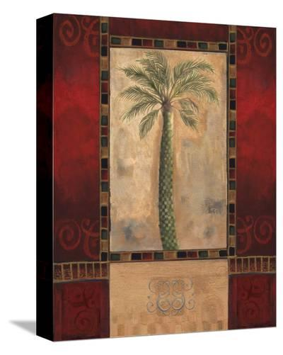 Tropical Palms III-Louise Montillio-Stretched Canvas Print