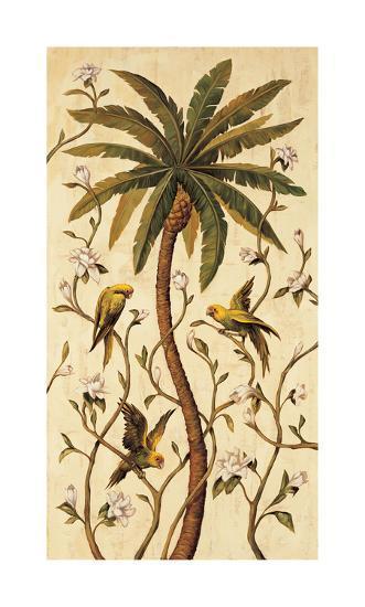 Tropical Panel II-Rodolfo Jimenez-Giclee Print