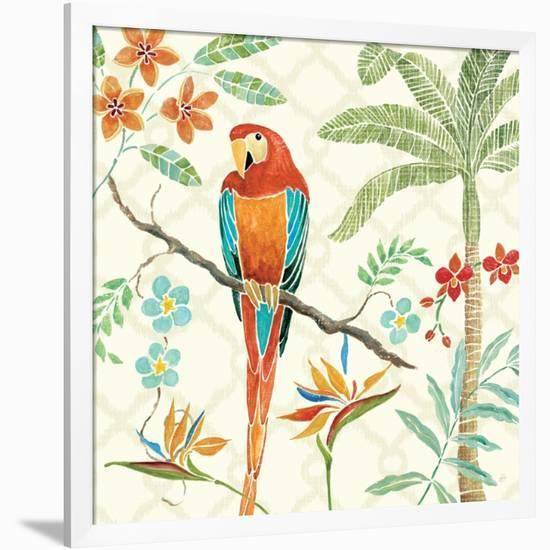 Tropical Paradise II-Daphne Brissonnet-Framed Premium Giclee Print