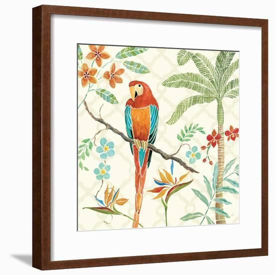 Tropical Paradise II-Daphne Brissonnet-Framed Art Print