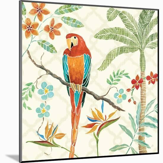 Tropical Paradise II-Daphne Brissonnet-Mounted Art Print