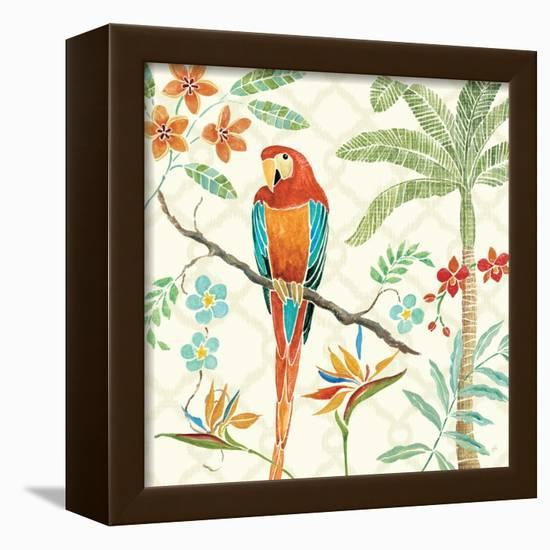 Tropical Paradise II-Daphne Brissonnet-Framed Stretched Canvas Print
