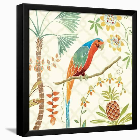 Tropical Paradise III-Daphne Brissonnet-Framed Stretched Canvas Print