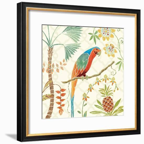 Tropical Paradise III-Daphne Brissonnet-Framed Premium Giclee Print