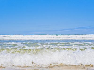 Tropical Paradise of Seventy Five Mile Beach, Fraser Island, UNESCO World Heritage Site, Australia-Matthew Williams-Ellis-Photographic Print