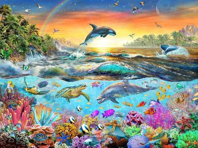 Tropical Paradise-Adrian Chesterman-Art Print