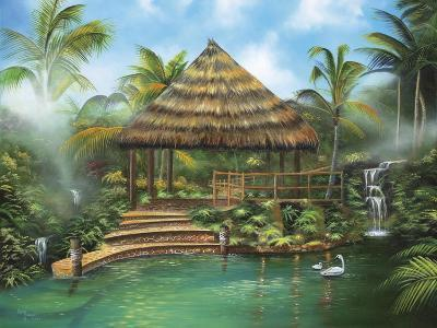 Tropical Paradise-Geno Peoples-Giclee Print