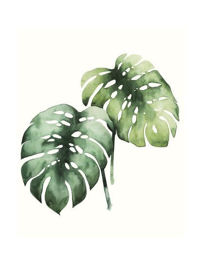 Tropical Plant I-Grace Popp-Art Print