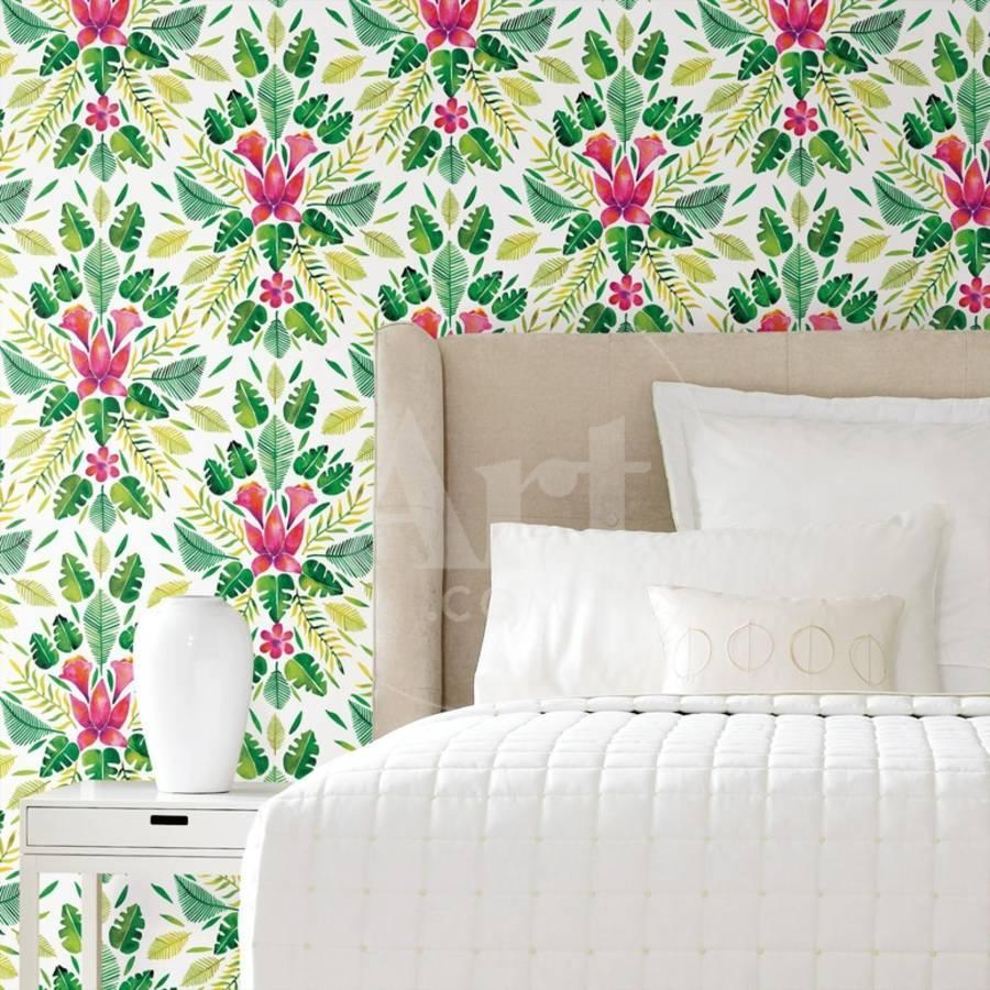 tropical decorations on bed tropical home decor ideas.htm tropical removable wallpaper wall decal by art com  tropical removable wallpaper wall decal