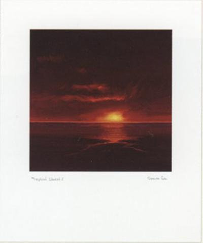 Tropical Sunset I-Spencer Lee-Art Print