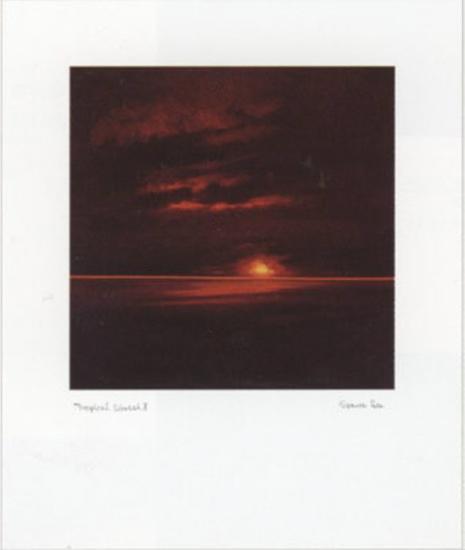 Tropical Sunset II-Spencer Lee-Art Print