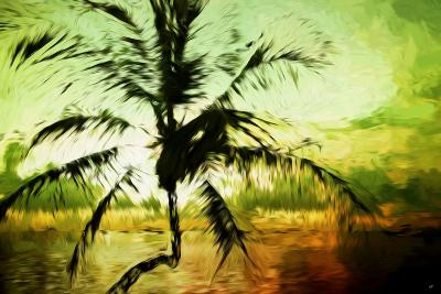 Tropical Sunset III - In the Style of Oil Painting-Philippe Hugonnard-Giclee Print