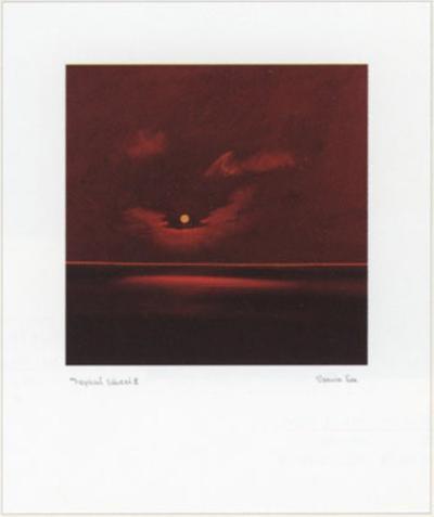 Tropical Sunset III-Spencer Lee-Art Print