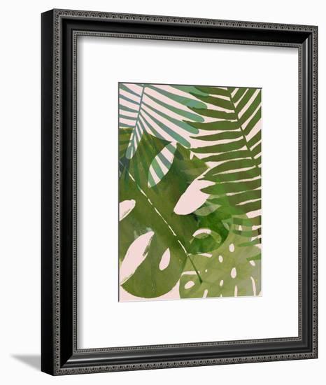 Tropical Tangle II-Victoria Borges-Framed Art Print