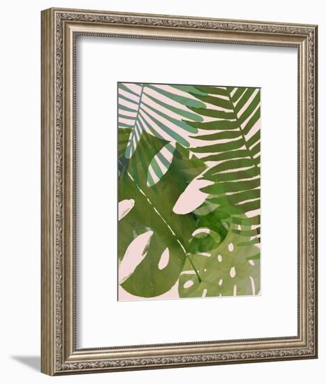 Tropical Tangle II-Victoria Borges-Framed Premium Giclee Print
