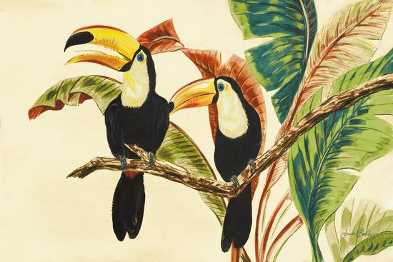 Tropical Toucans I-Linda Baliko-Premium Giclee Print