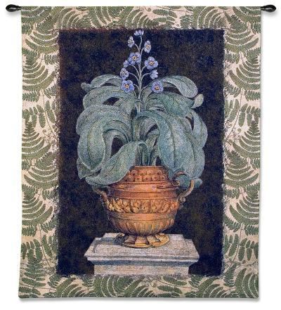Tropical Urn I-Walter Robertson-Wall Tapestry