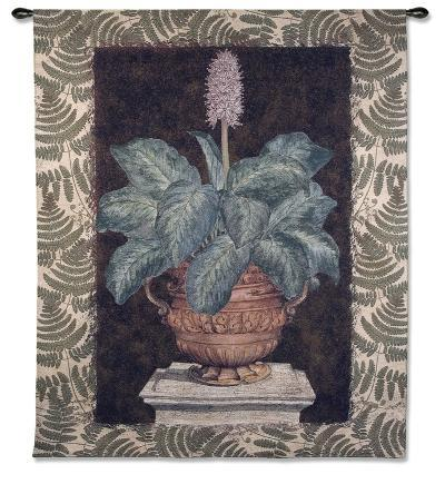 Tropical Urn II-Walter Robertson-Wall Tapestry