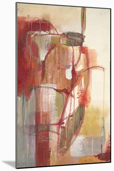 Tropical Vines-Terri Burris-Mounted Art Print