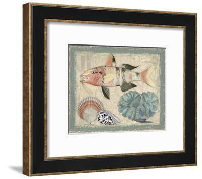 Tropical Waters II-Kate Ward Thacker-Framed Art Print