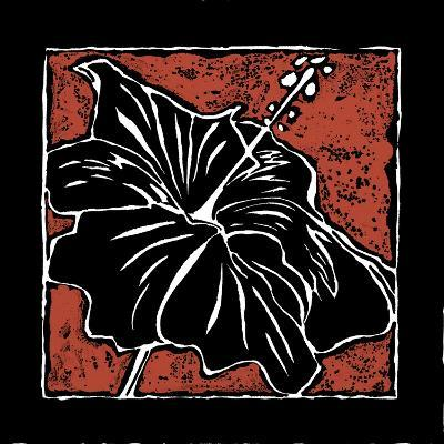 Tropical Woodblock I-Chariklia Zarris-Art Print