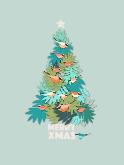 Tropical Christmas.Tropical Xmas Art Print By Susana Paz Art Com