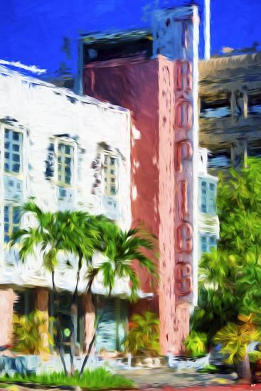 Tropics - In the Style of Oil Painting-Philippe Hugonnard-Giclee Print
