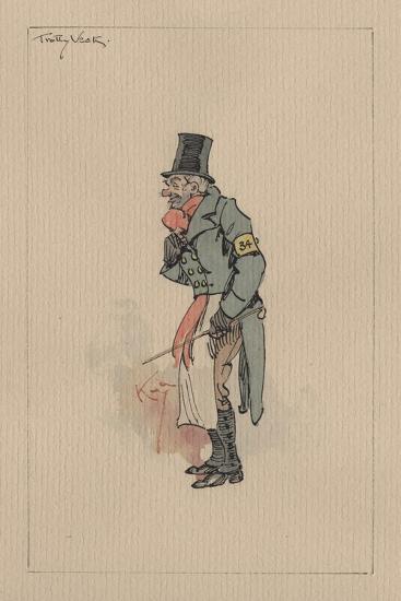 Trotty Veck - the Chimes, C.1920s-Joseph Clayton Clarke-Giclee Print