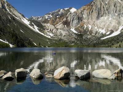 Trout Fishing on Convict Lake-Emily Riddell-Photographic Print