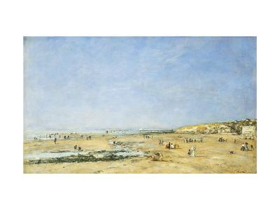 Trouville, General View of the Beach-Eug?ne Boudin-Giclee Print