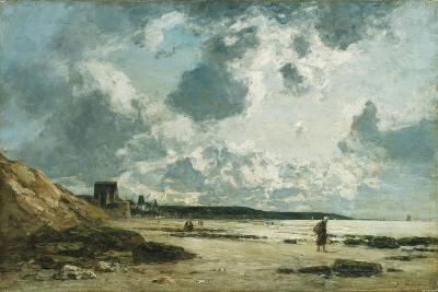 Trouville, the Black Rocks, C.1860-1865-Eug?ne Boudin-Giclee Print