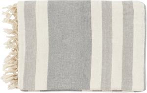 Troy Throw - Light Gray/Ash Gray