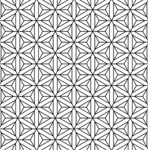 Seamless Geometric Op Art Texture by troyka