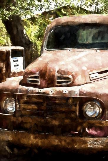 Truck Ford-Philippe Hugonnard-Giclee Print