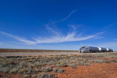 Truck Riding Through the Outback of South Australia, Australia, Pacific-Michael Runkel-Photographic Print