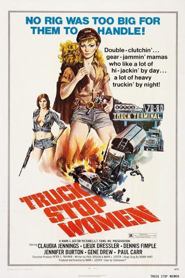 Truck Stop Women, 1974--Art Print