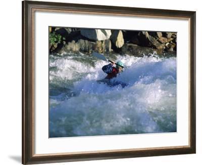 Truckee River, California, USA--Framed Photographic Print