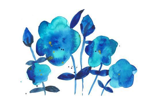 True Blue I-Alicia Ludwig-Art Print