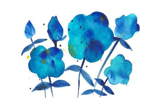 True Blue II-Alicia Ludwig-Art Print