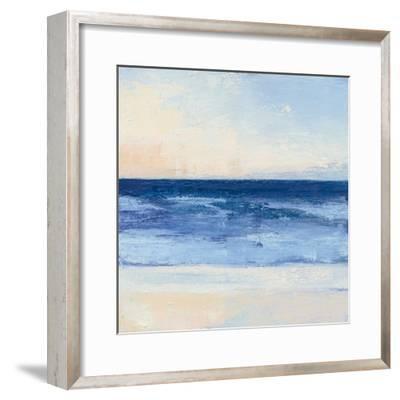 True Blue Ocean II-Julia Purinton-Framed Art Print