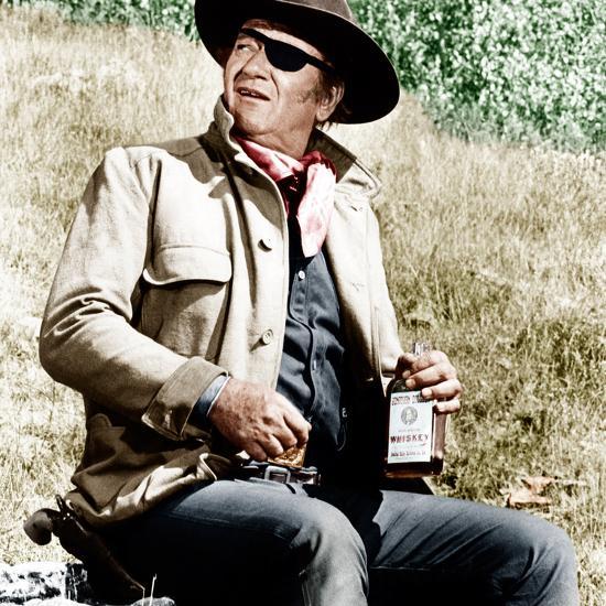 TRUE GRIT, John Wayne, 1969--Photo