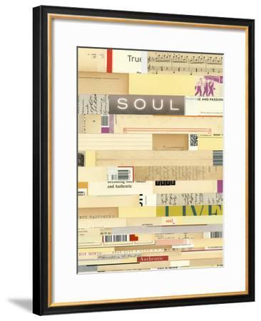 True III-Nikki Galapon-Framed Giclee Print