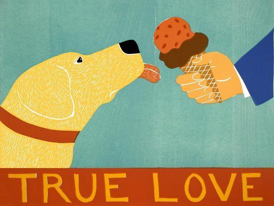 True Love Yellow-Stephen Huneck-Giclee Print